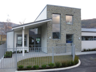 Street view of main entry to the state of the Art Arrowtown pre-school