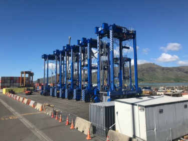 Lyttelton Port Company Straddle Carriers